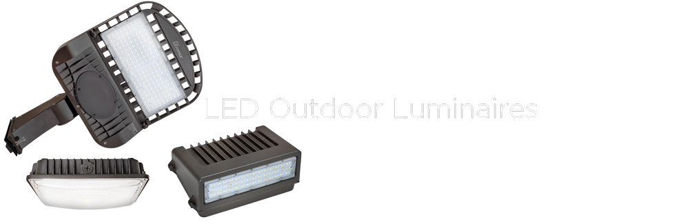 Topaz LED Outdoor Luminaires