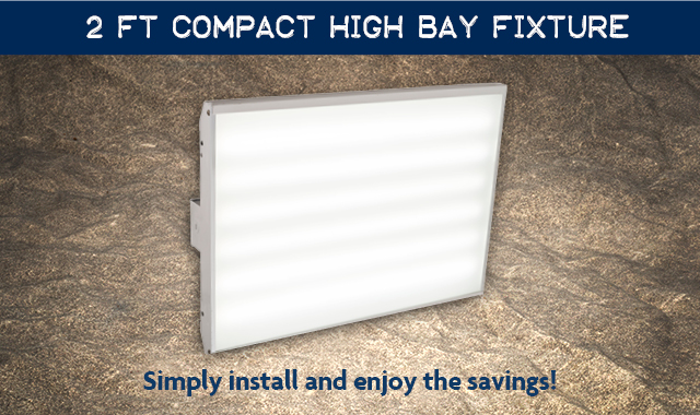 "2"" LED  Compact High Bay Fixture"