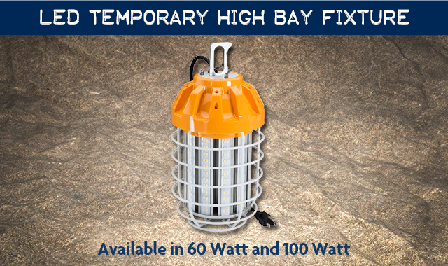 LED Temporary High Bay Fixture