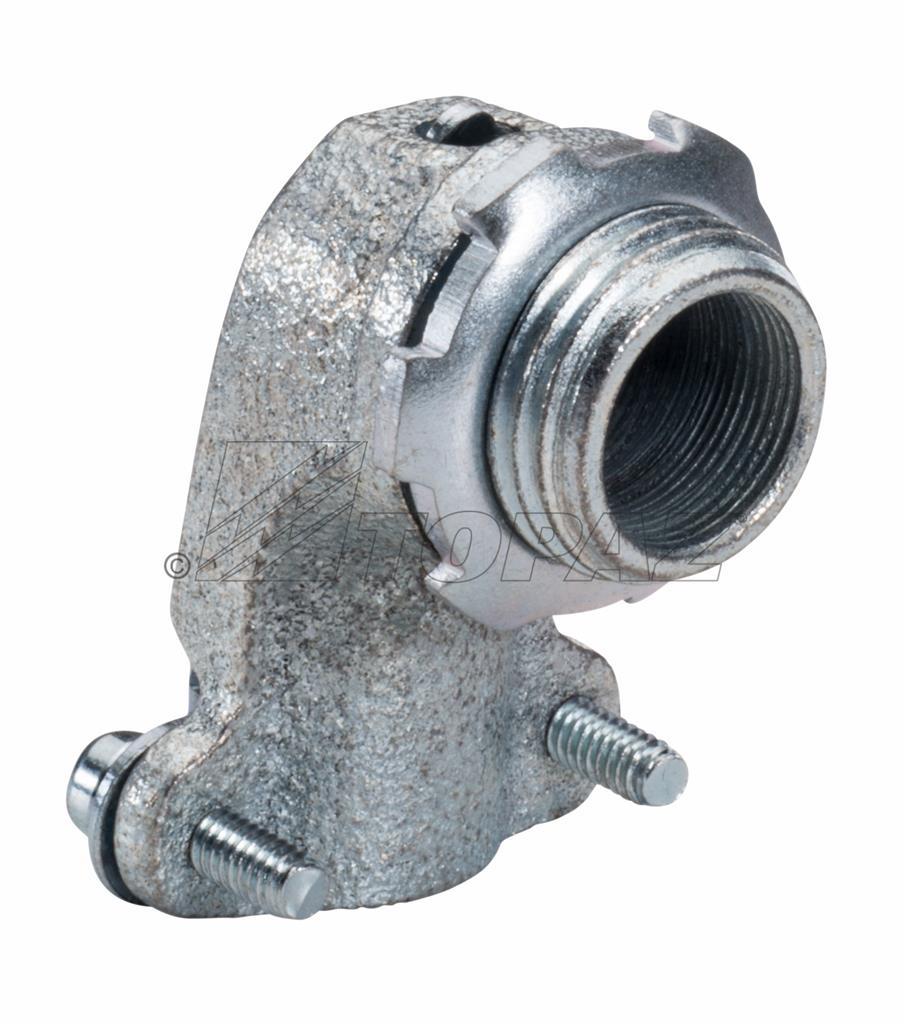 103m Bx Flex 90 Deg Squeeze Type Connector Malleable 1 Quot