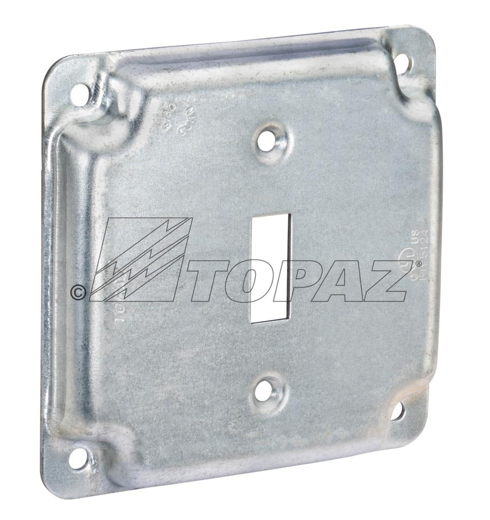 4 Quot Square Industrial Surface Covers Toggle Switch