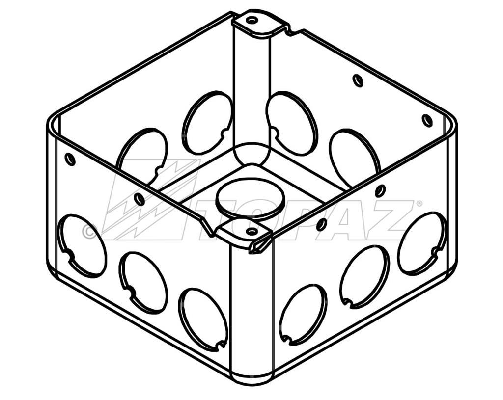 4 u0026quot  square drawn boxes 2 8 u0026quot  deep 1  2 u0026quot  ko