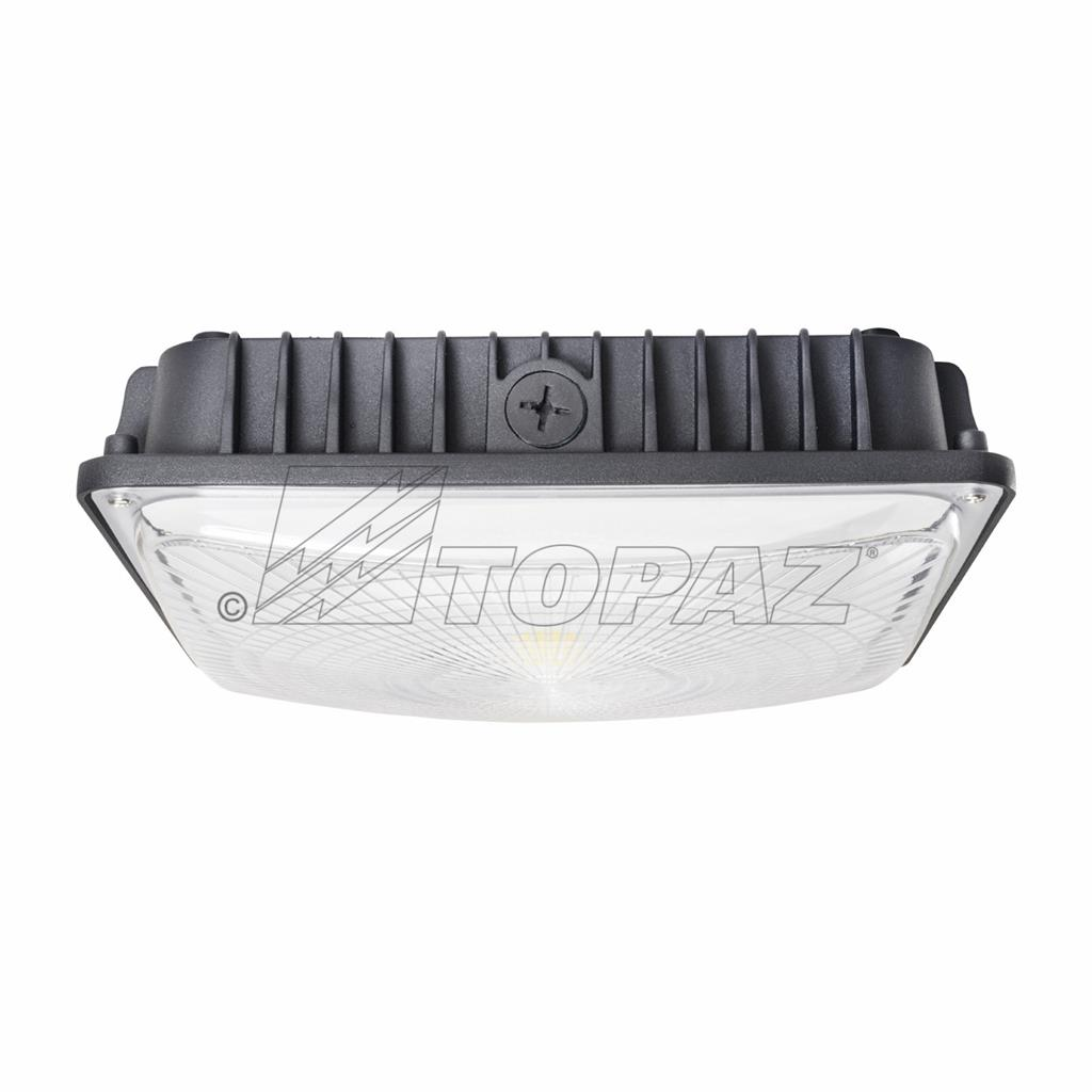 Led Light Fixtures For Parking Garages: Canopy And Parking Garage Lights Led Outdoor Lighting