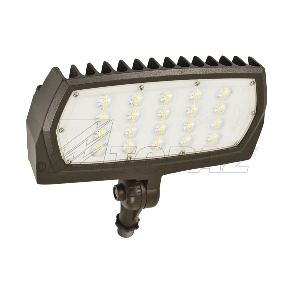 50w Bronze Knuckle Mount Small Flood Light
