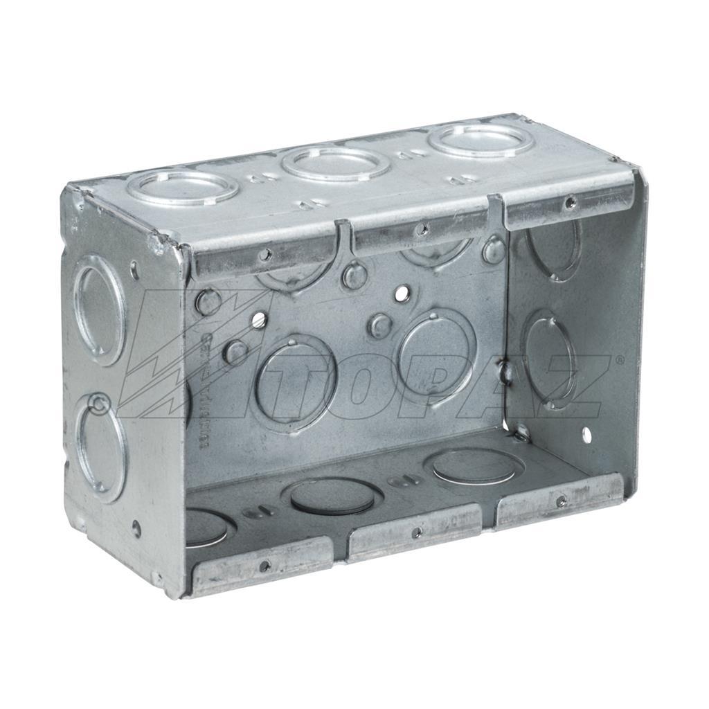 2 1 2 Quot Deep 3 Gang Masonry Boxes