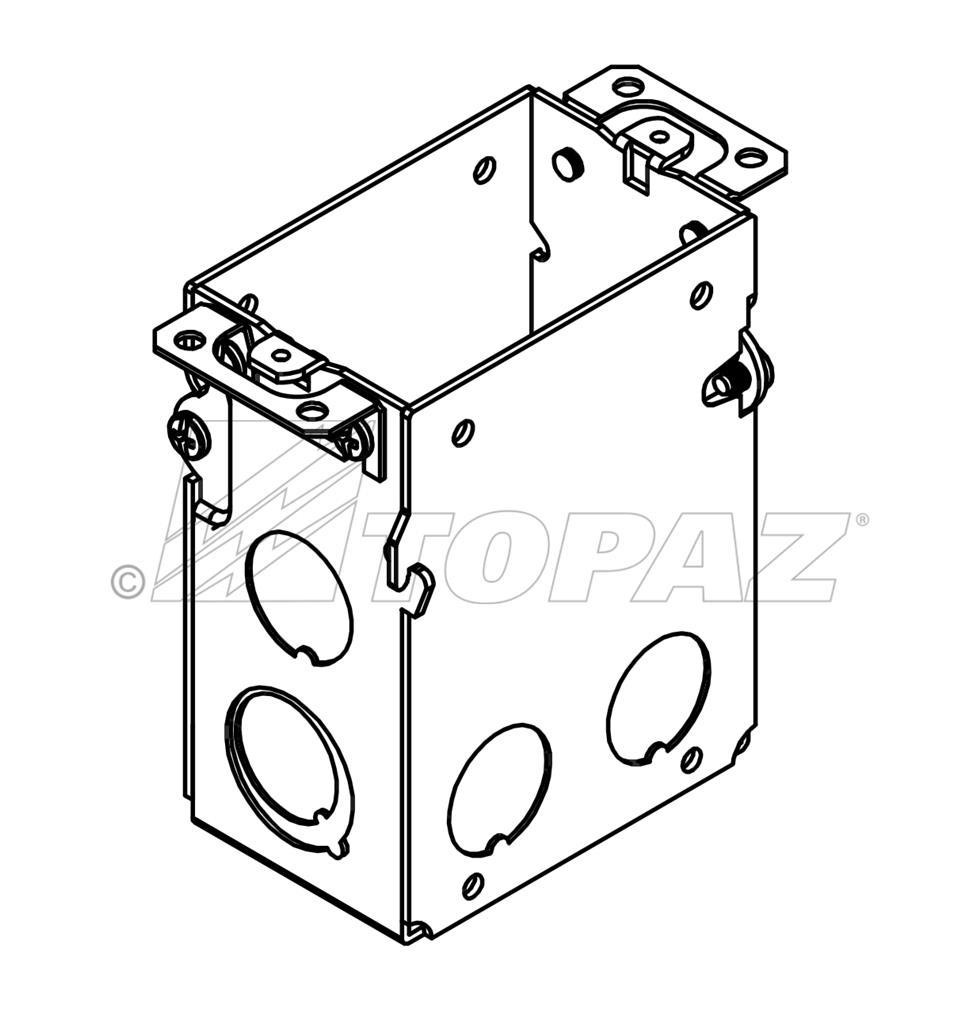 3 u201d x 2 u201d gangable switch boxes sbg591 sbg605sbg600 sbg601