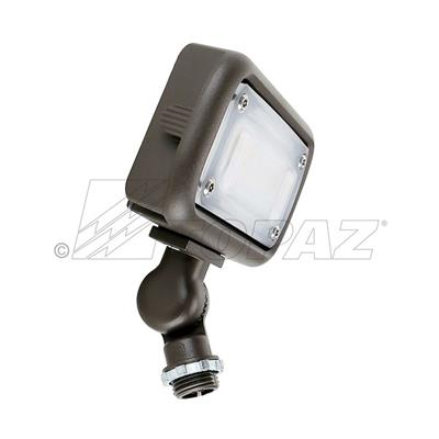 15W LED Small Flood Light 1500 Lumens with Knuckle Mount BZ
