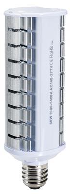60w Retrofit Outdoor Wall Pack Area Light E39 Base 5000k