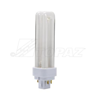 13W Compact Fluorescent Quad Tube 4-Pin G24q-1 Base