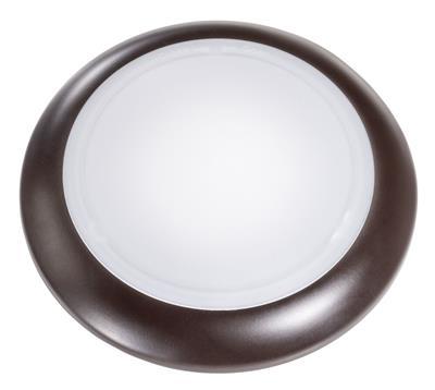 6 Quot Bronze 15w Surface Mount Disk Light 2700k